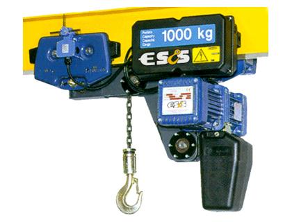 Paranchi elettrici e paranchi a fune elettroline for Paranco elettrico con supporto a bandiera